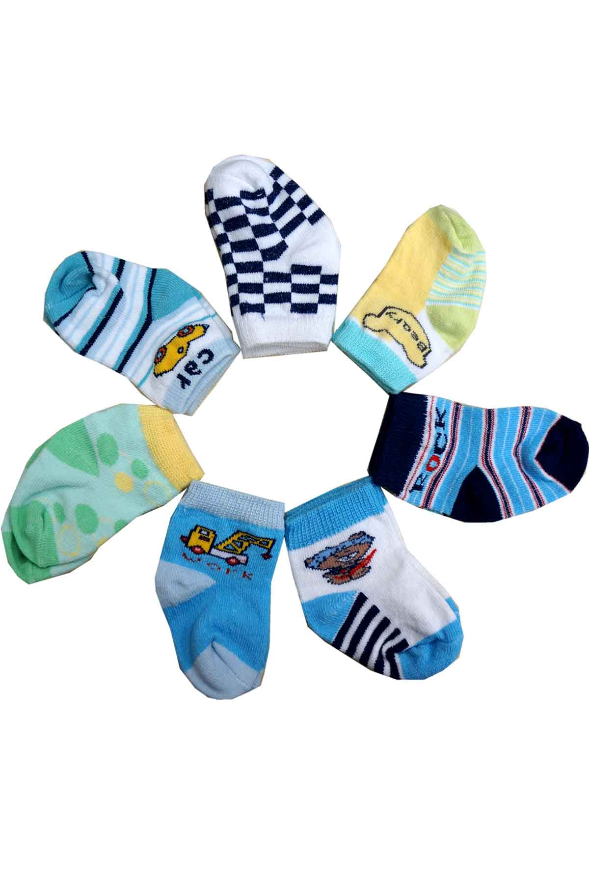 Seven Days Baby Boy Socks Assorted end 10 24 2019 11 34 PM