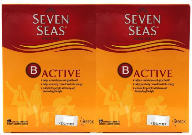 SevenSeas B Active 2 x 90s