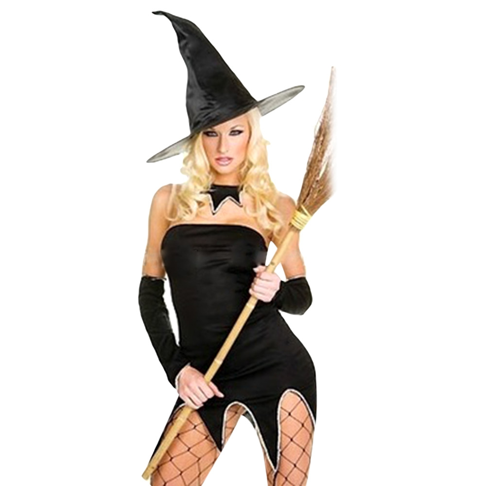 dad83a23f4 SEXY HALLOWEEN PARTY WITCH UNIFORM COSTUME DRESS