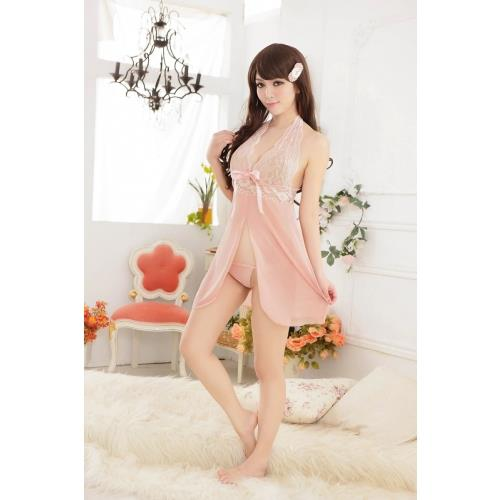 441c5a756f Sexy Lace Sleep Wear Lingerie With Deep V Neck