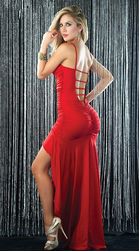 Sexy Lady Long Formal Evening Prom C (end 4/12/2018 5:15 PM)