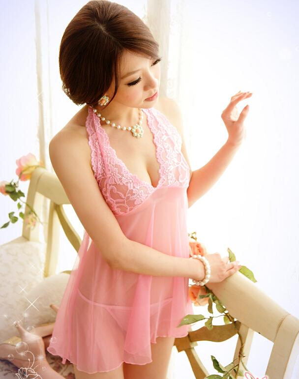 Sexy Lingerie Sexy Hot Gauze Lace Nightwear