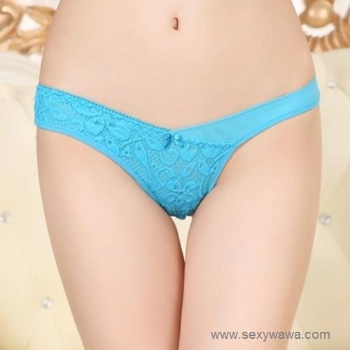 d1fc4bd0b79 Sexy Panties Lace Open Crotch Woman Underwear G-String Thong Panties. ‹ ›