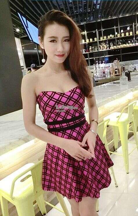 Sexy Tube Dress PINK 6795WD
