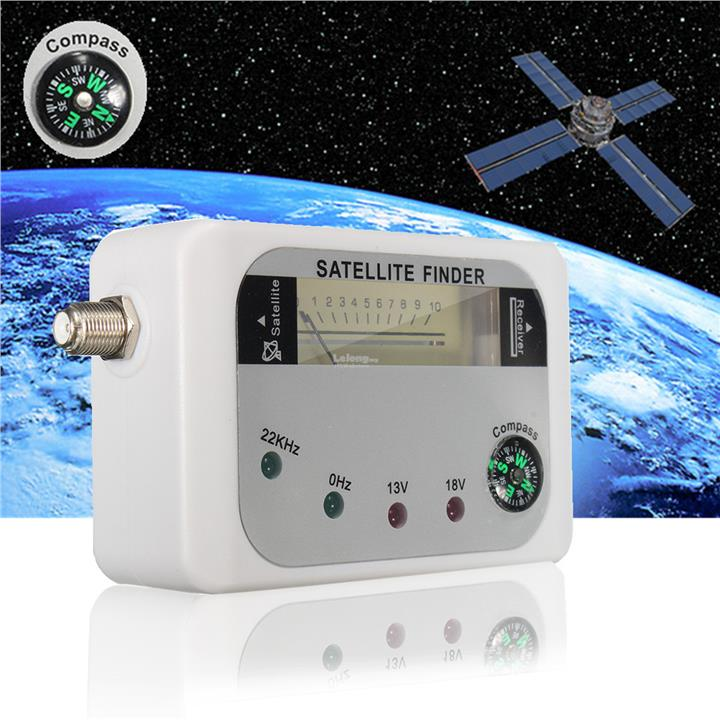 SF-9508 Digital Satellite Finder Signal Meter Sat Dish Finder DVB-T wi