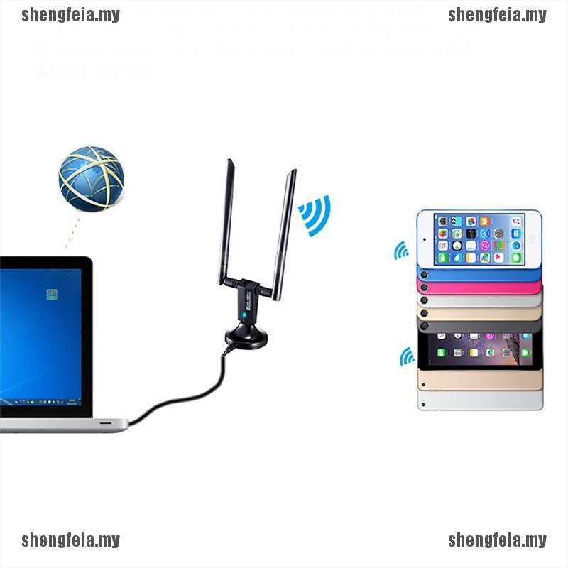 Sfa 1200Mbps Long Range Ac1200 Dual Band 5ghz WIRELESS USB 3.0 Wifi Ad