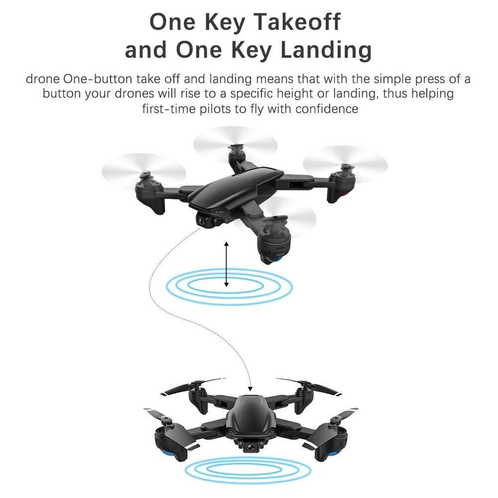 SG701S RC Drone with Camera 4K Dual Camera 5G Wifi GPS Foldable Optical Flow P
