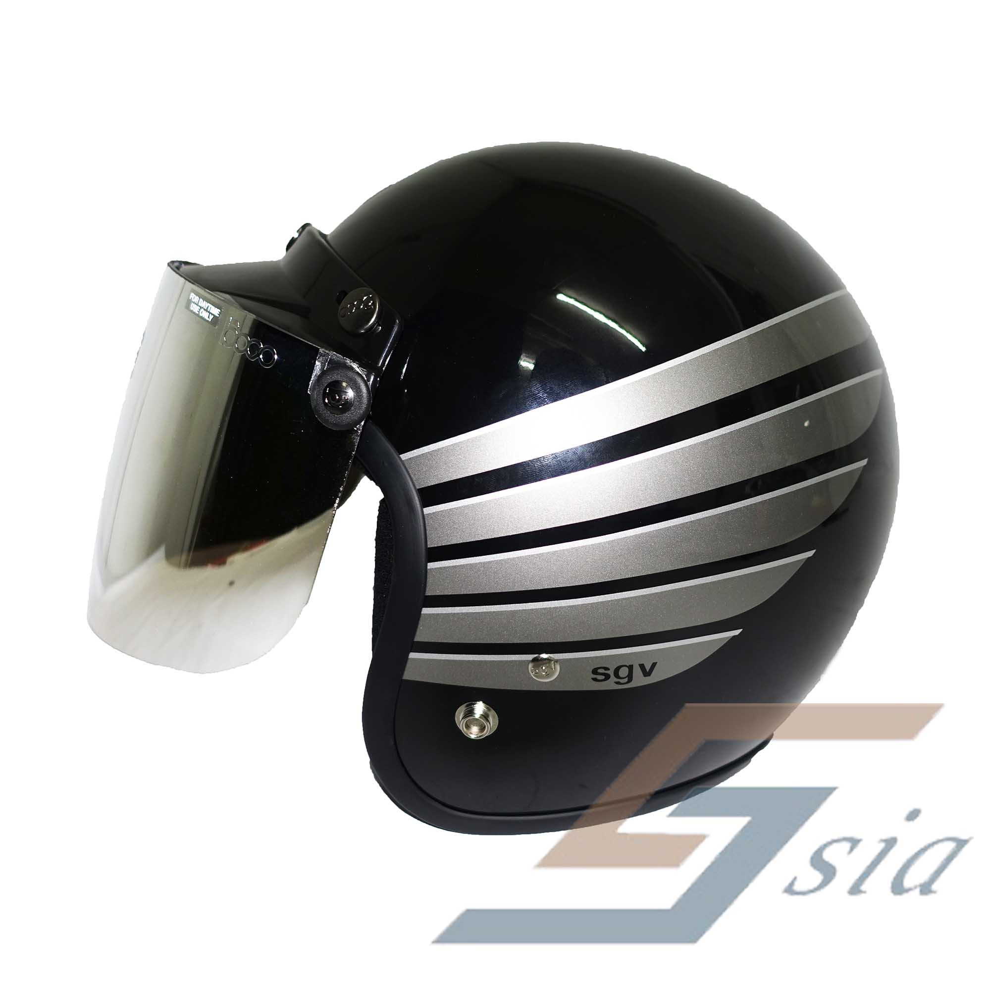 Sgv Racing Stripes Wing Helmet Blac End 3 2 2021 12 00 Am