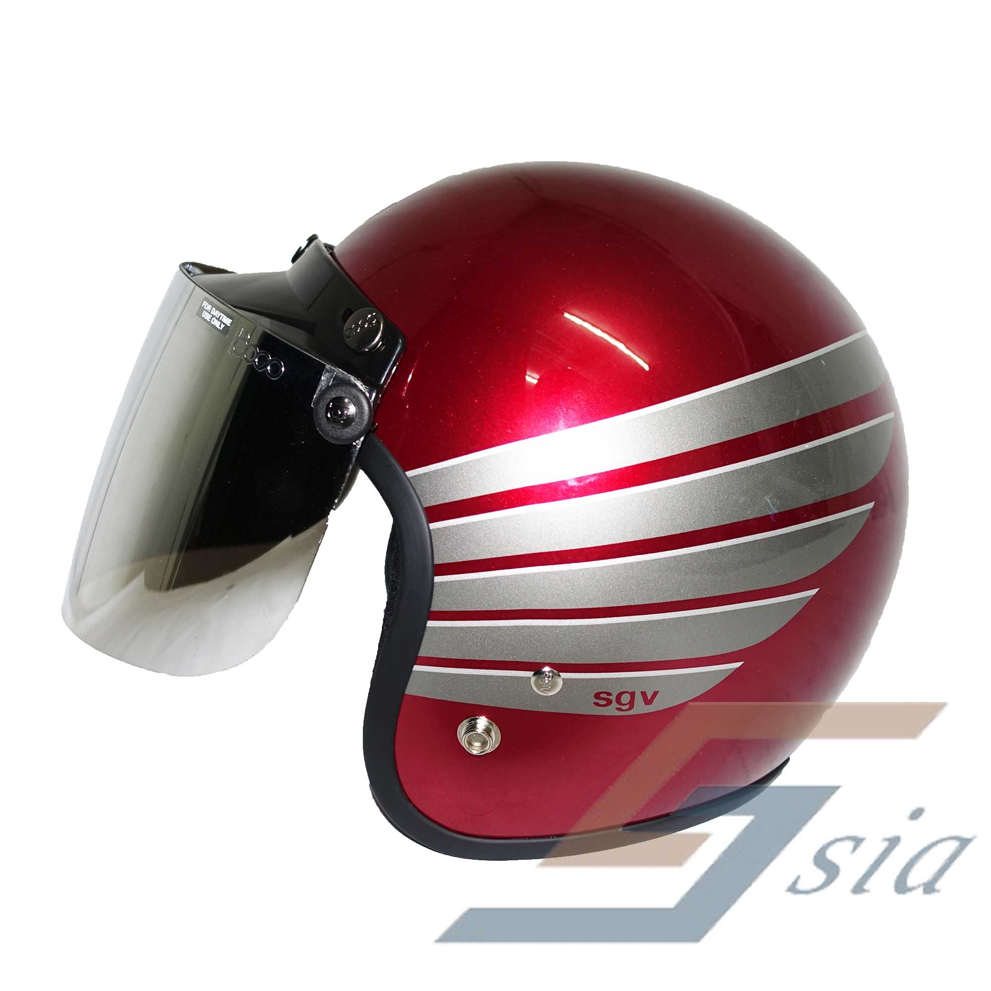 Sgv Racing Stripes Wing Helmet Red End 3 2 2021 12 00 Am