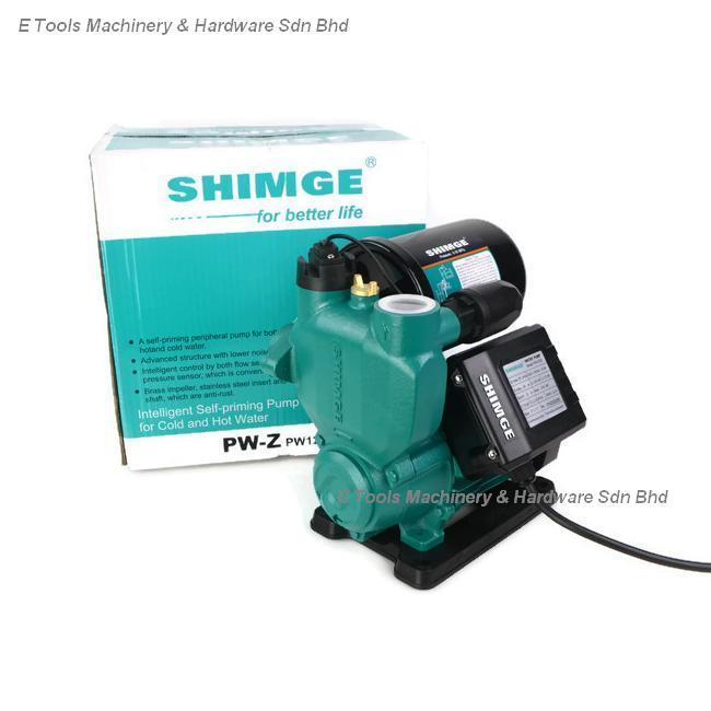SHIMGE PW125Z FULLY AUTOMATIC SELF-PRIMING BOOSTER PUMP for COLD AND H