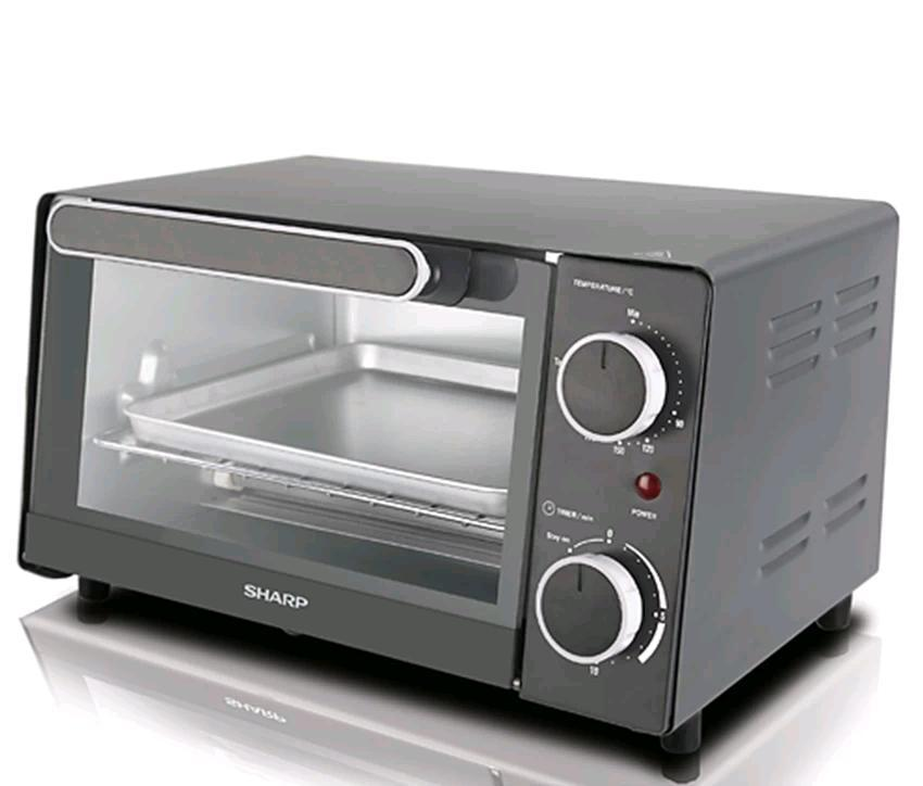 Sharp 9l Electric Oven Toaster Eo9mtbk Upper Lower Quartz Heating