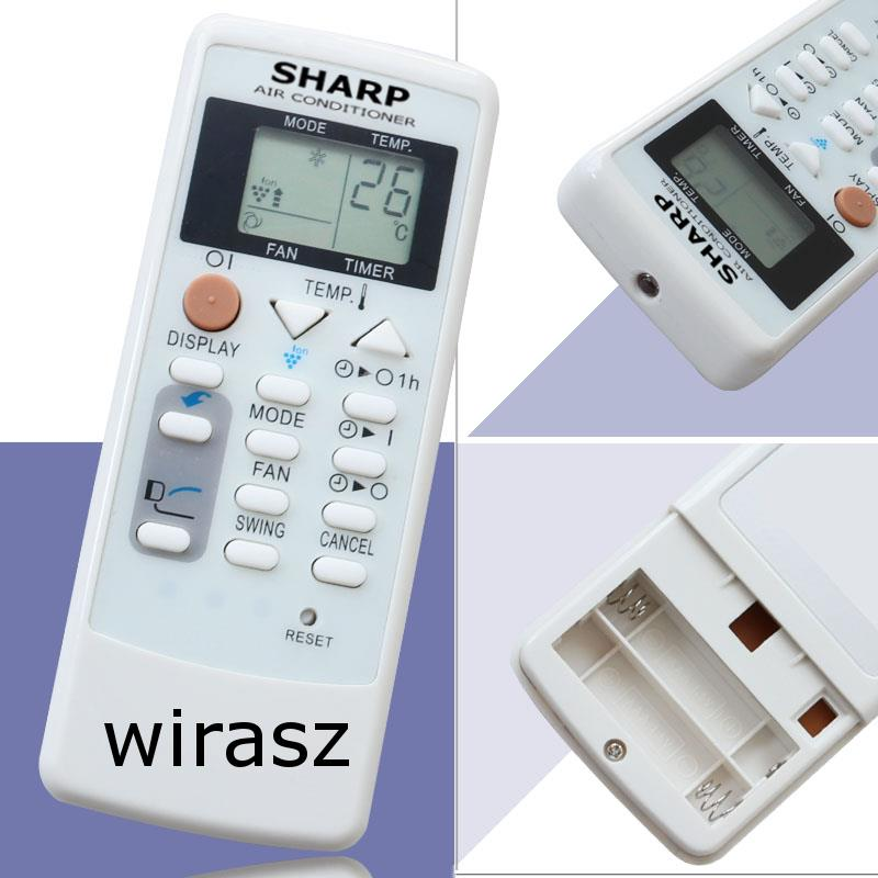 SHARP aircon Remote Control AIR CONDITIONER Ion replacement SPARE PART