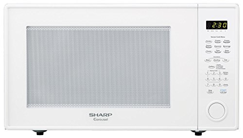 Sharp Countertop Microwave Oven Zr659yw 2 Cu Ft 1200w White With S