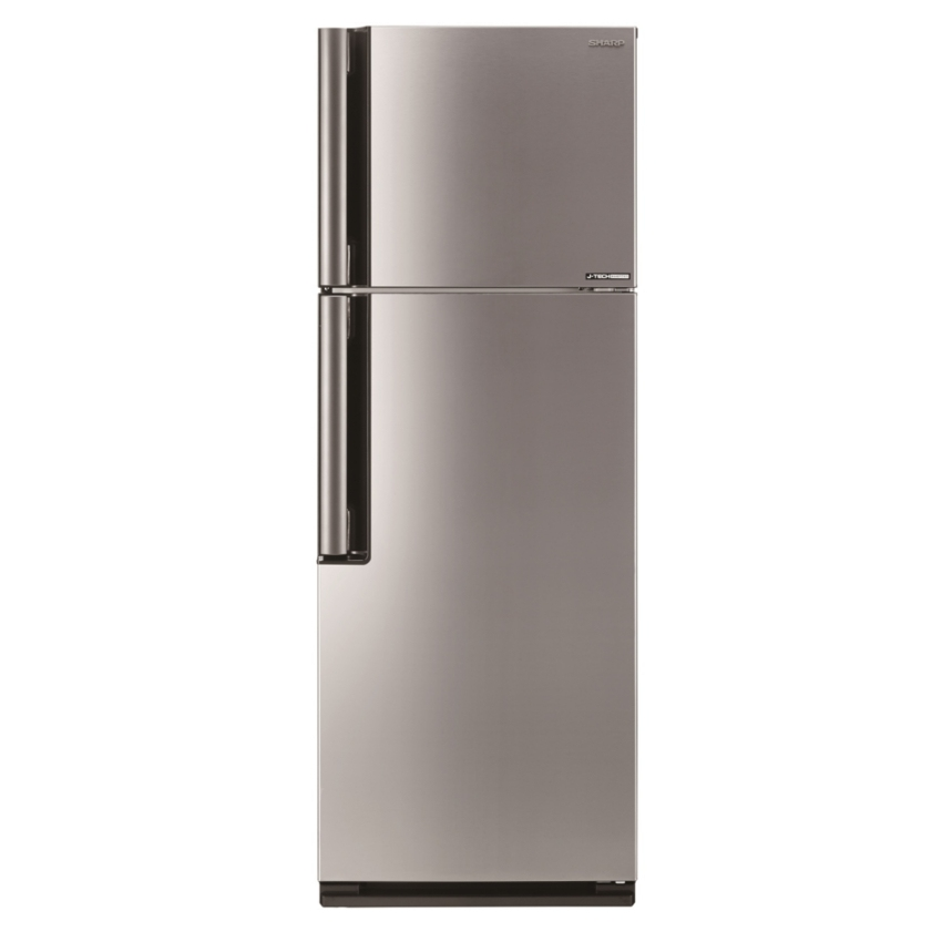sharp fridge 2 door. sharp fridge 2 door sje435msl 430l j-tech inverter metalic silver l