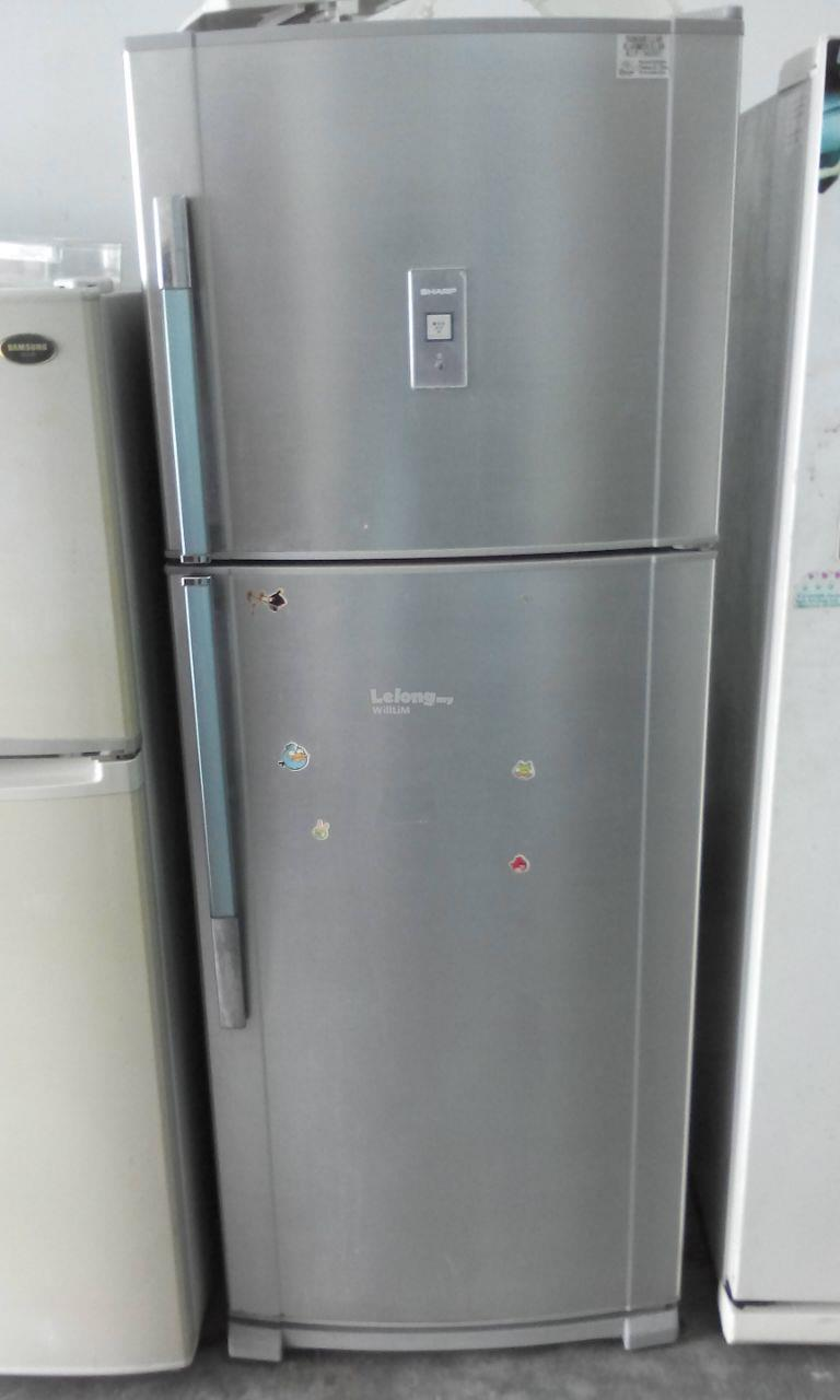Sharp Peti Ais Ice Sejuk Refrigerator Fridge Recondition Refurbish