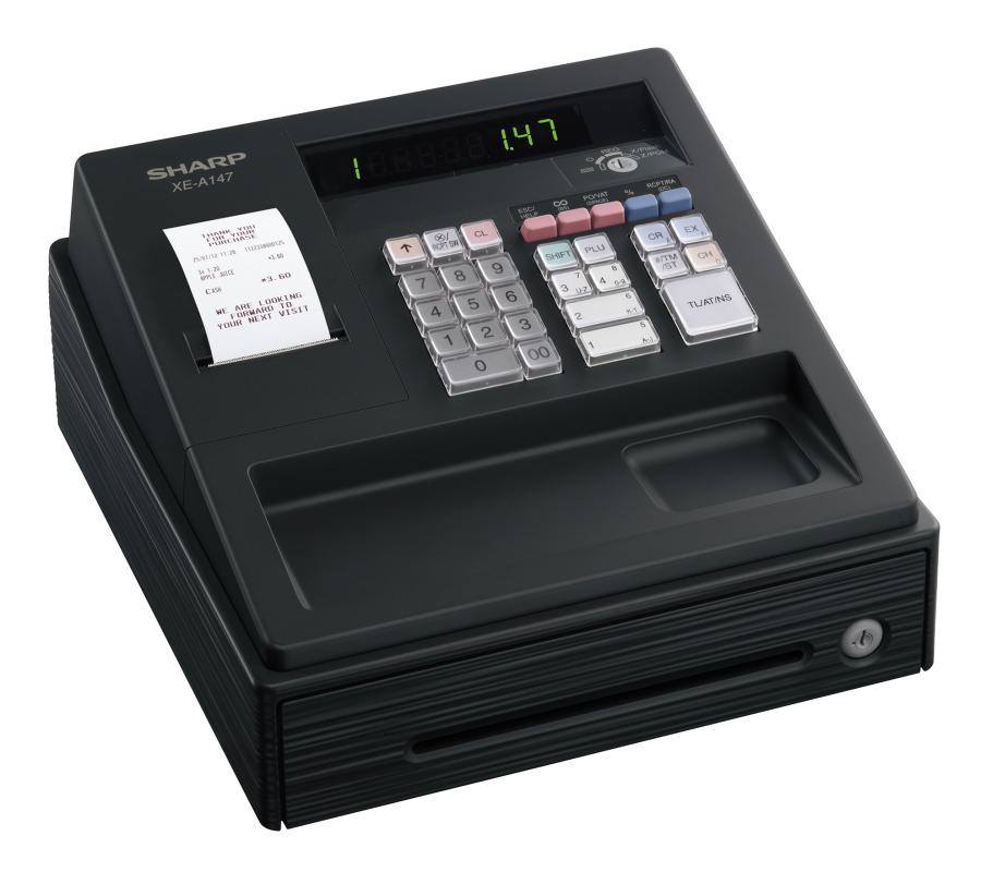 SHARP XEA-147 CASH REGISTER II