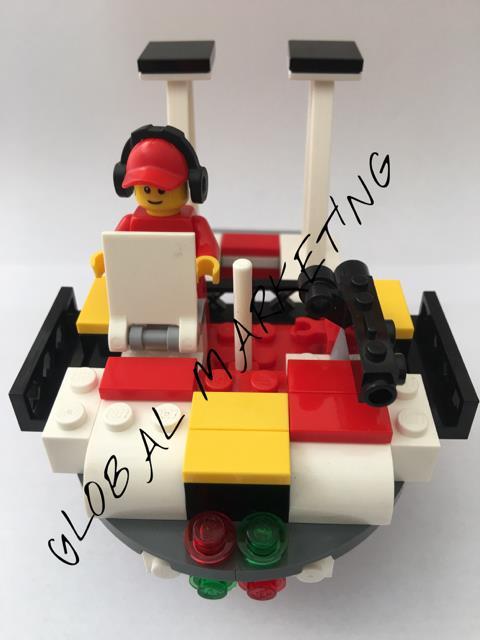 Shell Lego build Star WaR ship