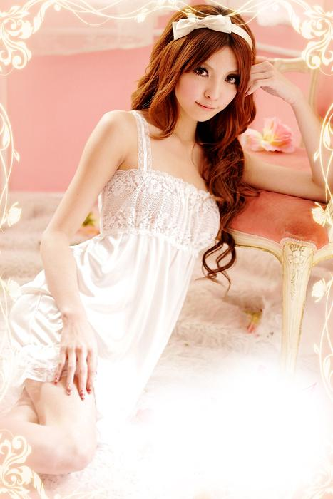 Shining Gling Lace Princess Dress + Panties