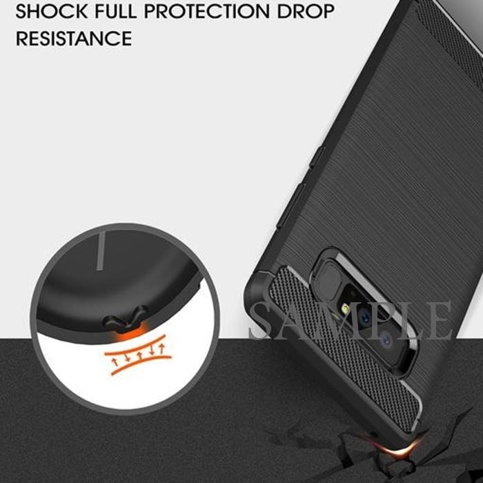 "Shockproof Rugged Armor Brushed TPU Jelly Case Xiaomi Mi8 Mi 8 (6.21"")"
