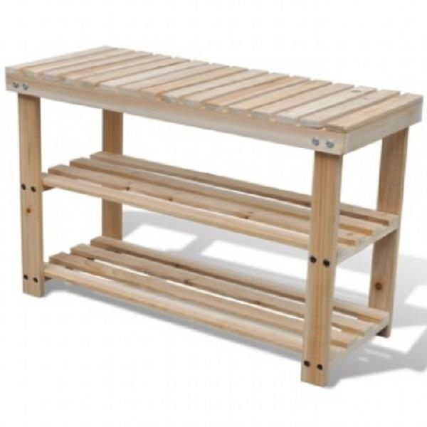Shoe Rack Bench (70cm)