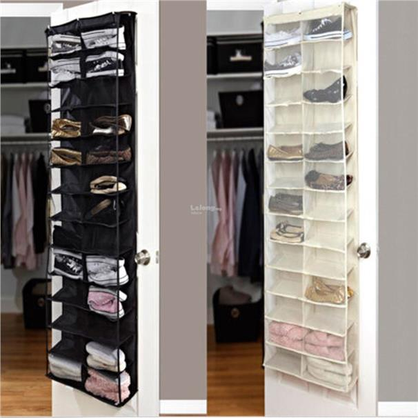Shoe Rack Storage Organizer Holder Folding Hanging Door Closet 26 Pock