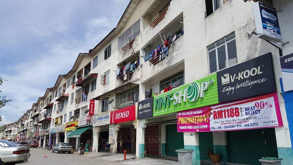 Shop Apartment Taman Malim Jaya ,Bachang Melaka