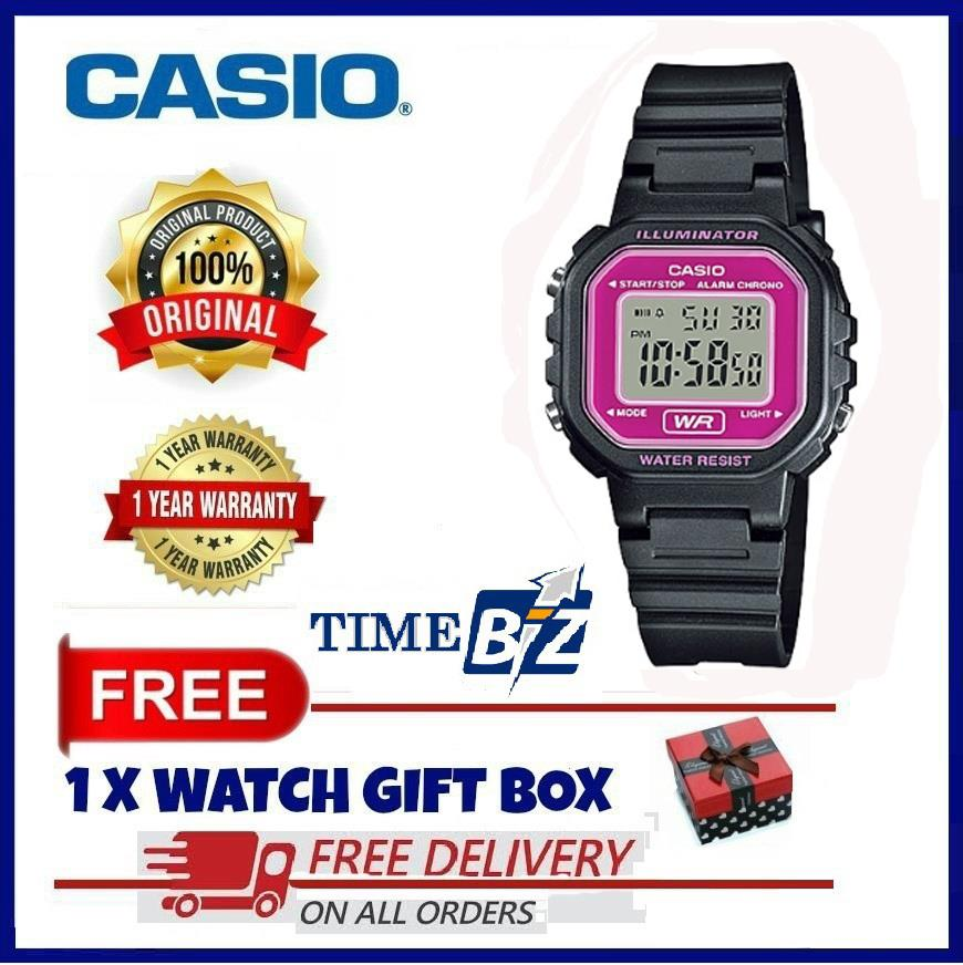 SHOP NOW! Casio LA-20WH-4ADF Women's Digital Youth Series Resin Watch
