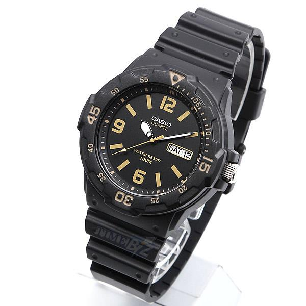 SHOP NOW! Casio MRW-200H-1B3VDF Black Resin Men's Watch MRW-200H-1B3 /