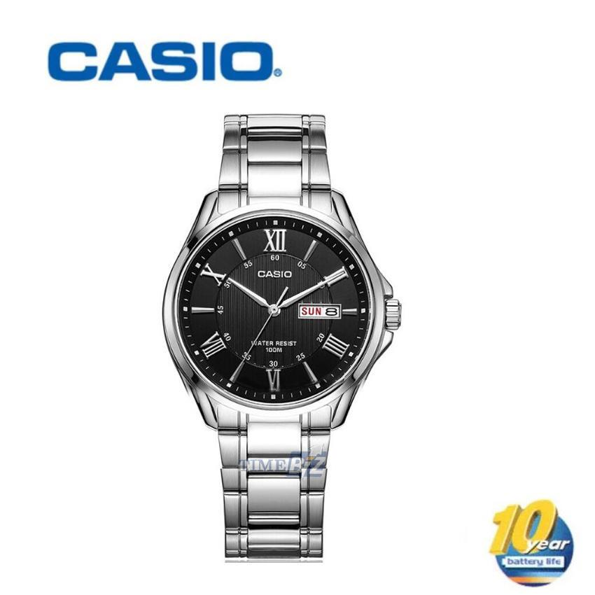 SHOP NOW! Casio MTP-1384D-1A Analog Mens Watch Day Date Display MTP-13