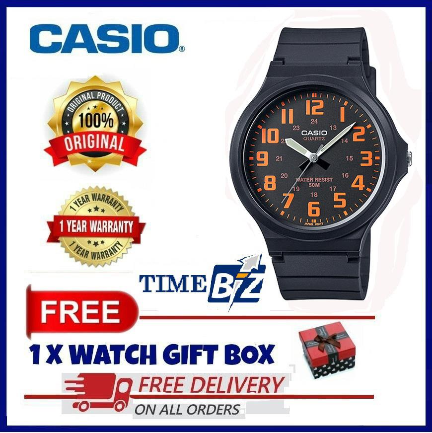 SHOP NOW! Casio MW-240-4BVDF Analog Mens Watch Large Case Resin band W