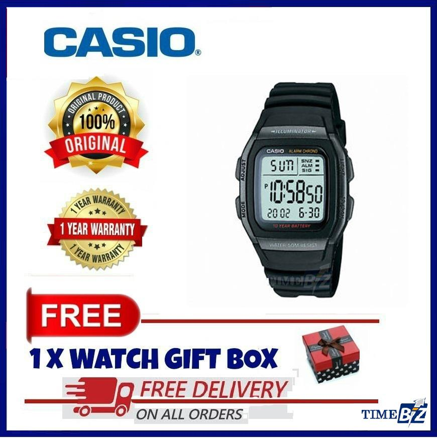 SHOP NOW! Casio W-96H-1BVDF men's digital watch W96H-1BVDF W-96H1BVDF