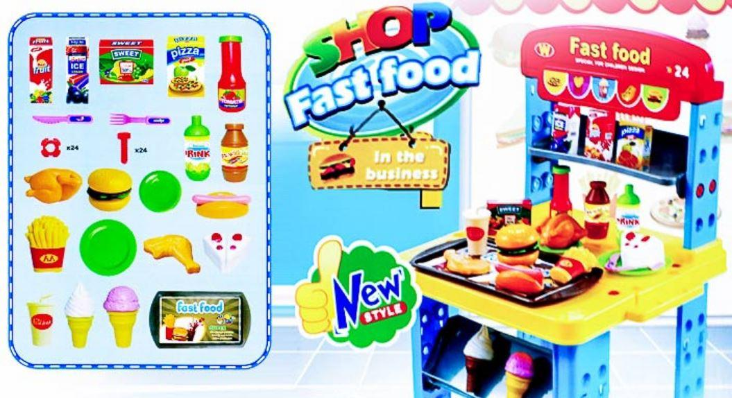 Shop Fast Food Play Set, Role Play To (end 1/5/2016 2:30 PM)
