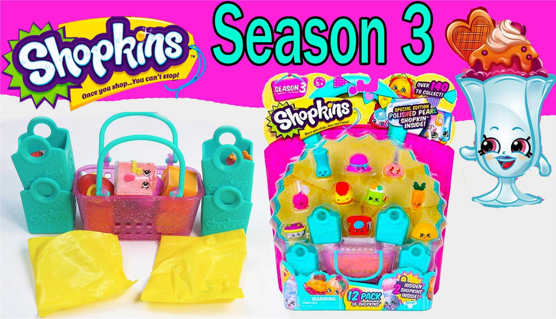 Shopkins Season 2 And 3 Toy