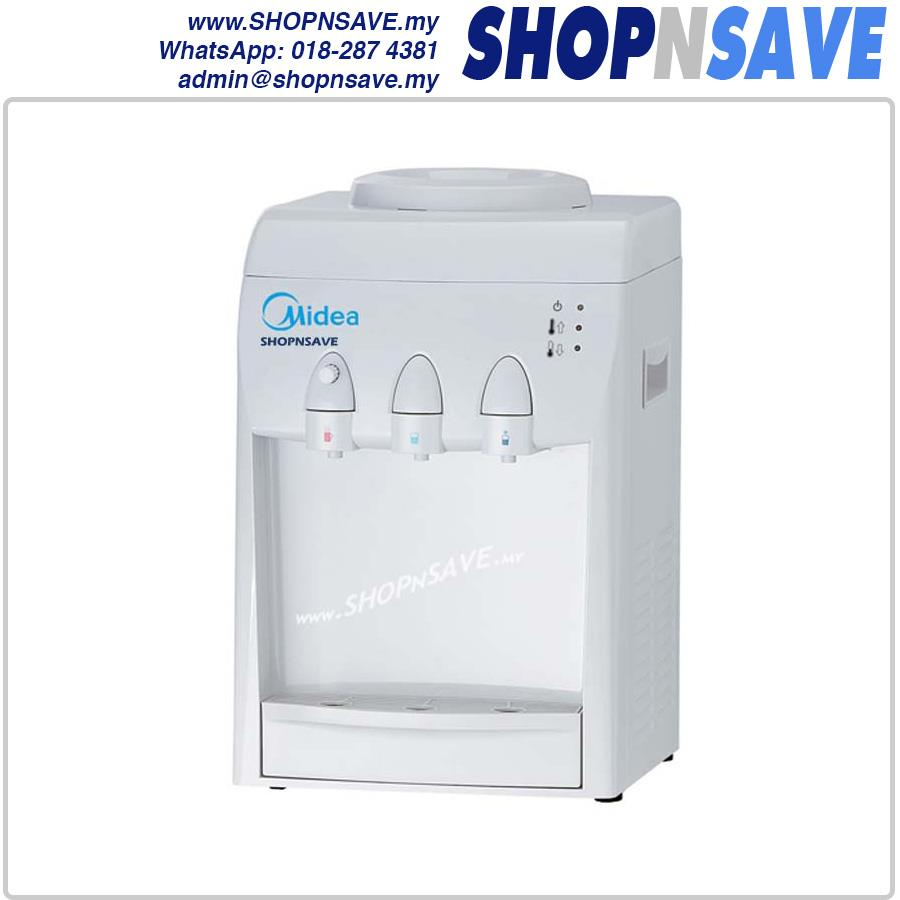 shopnsave midea hot cold normal 3 tap water dispenser 4 water filter