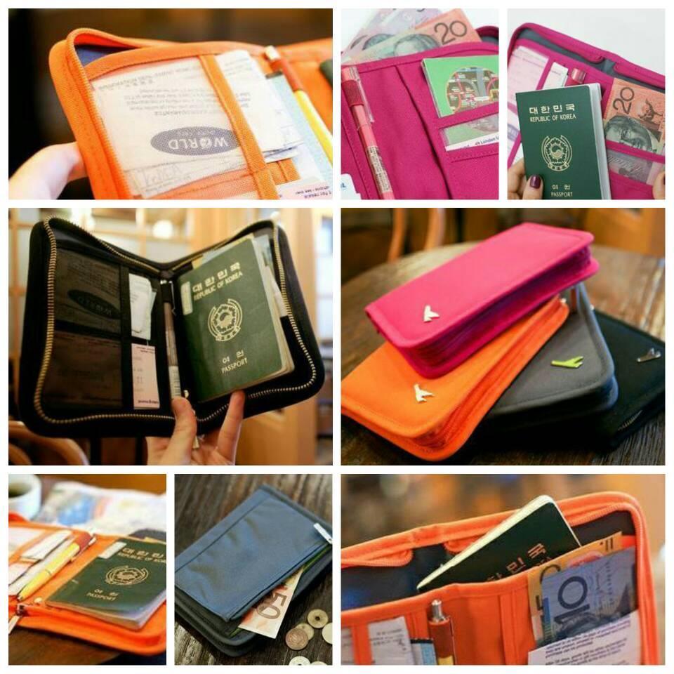 4fb94fd67 Short Travel Passport Holder Multifun (end 1 7 2020 8 15 PM)