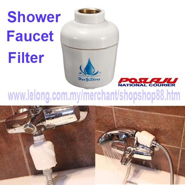 Shower Faucet Filter/ Water Filter Fo (end 2/4/2019 4:51 PM)