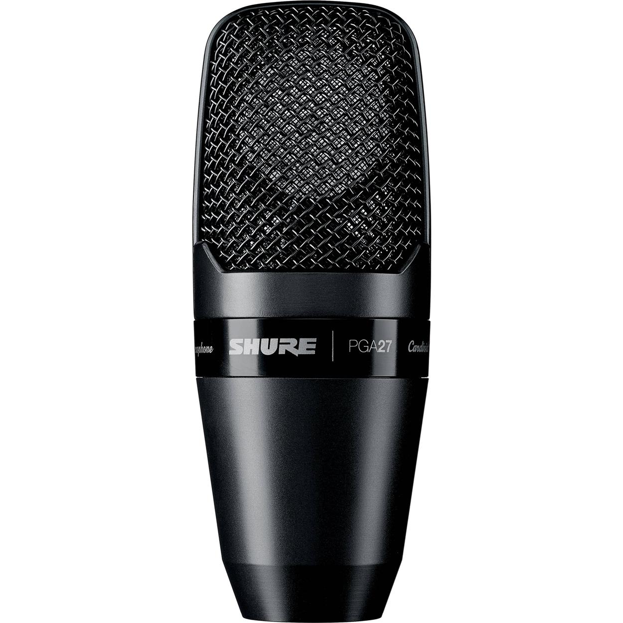 SHURE PGA27 - Large Diaphragm Side-Address Cardioid Condenser Mic