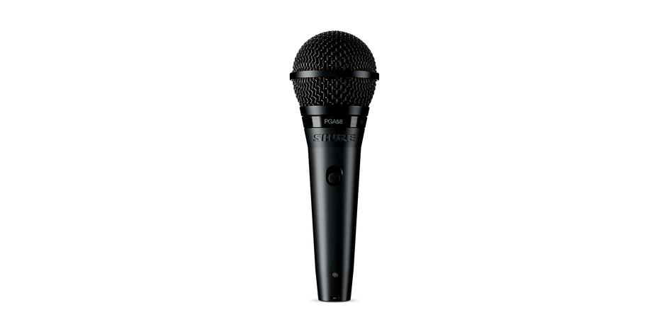 SHURE PGA58 - Cardioid Dynamic Vocal Microphone (NEW) - FREE SHIP