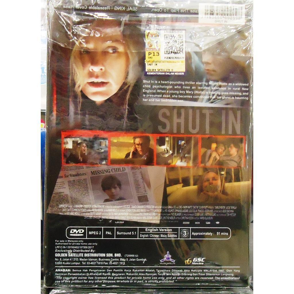 SHUT IN Naomi Watts DVD