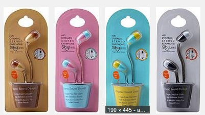 SIBYL WIRED M42 EARPHONE ASSORTED COLOR