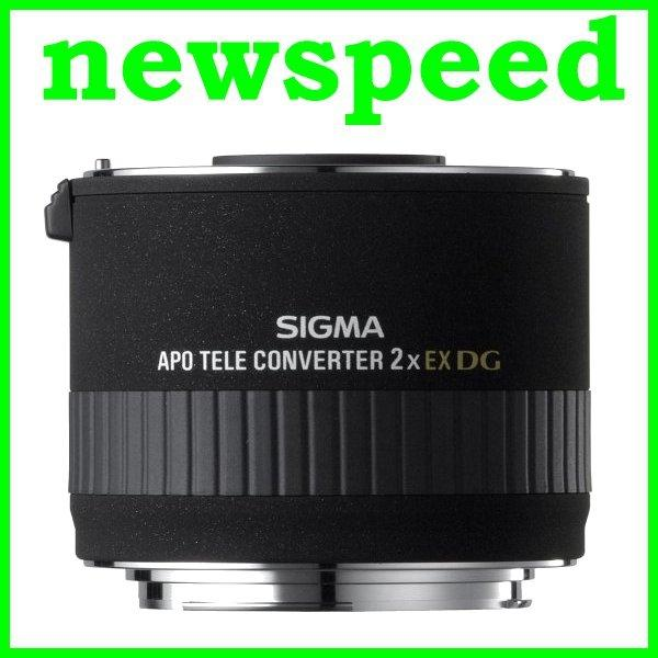 New Sigma 1.4X Teleconverter EX APO DG for Canon