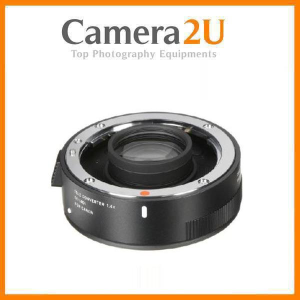 NEW Sigma 1.4X Teleconverter TC-1401 Lens for Canon Mount