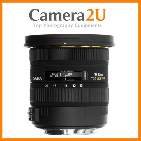 NEW Sigma 10-20mm F3.5 EX DC HSM Autofocus Lens for Canon