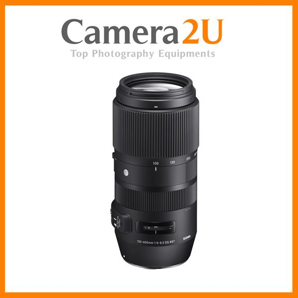Sigma 100-400mm f/5-6.3 DG OS HSM Contemporary Lens for Canon