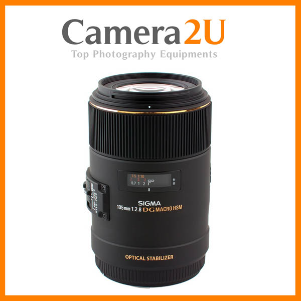 NEW Sigma 105mm F2.8 EX DG OS Macro Lens for Canon