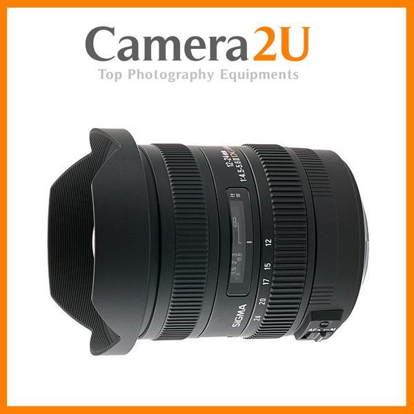 NEW Sigma 12-24mm F4.5-5.6 DG HSM II Lens For Canon Mount