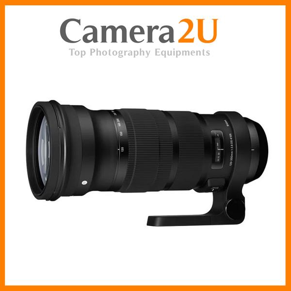 NEW Sigma 120-300mm F2.8 DG OS HSM Sport Lens for Canon Mount