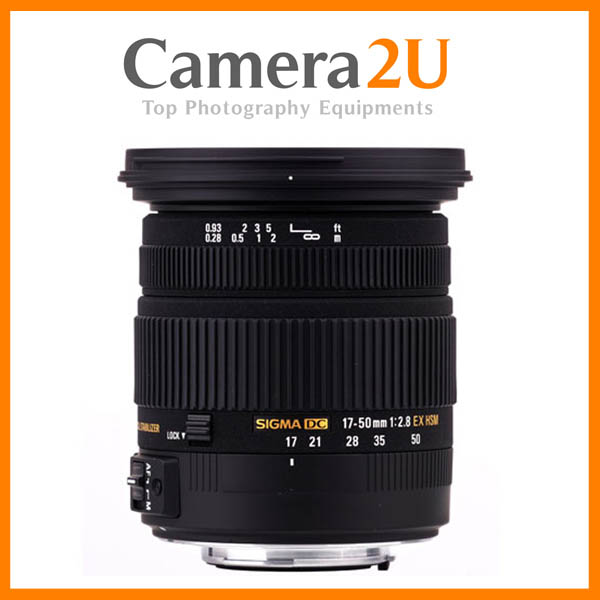 NEW Sigma 17-50mm F2.8 EX DC OS HSM Lens For Canon Mount