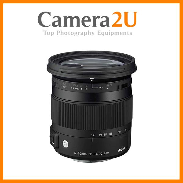 NEW Sigma 17-70mm F2.8-4 DC MACRO OS HSM Contemporary Lens For Canon