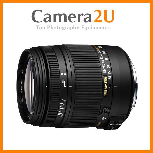 NEW Sigma 18-250mm F3.5-6.3 DC MACRO OS HSM Lens For Nikon